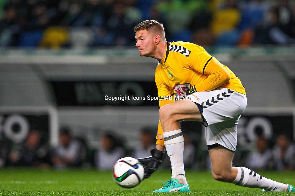 Lukas Raeder - 28.01.2015 - Sporting / Vitoria Setubal -Coupe de la ligue- Portugal-<br /> Photo : Carlos Rodrigues /  Icon Sport