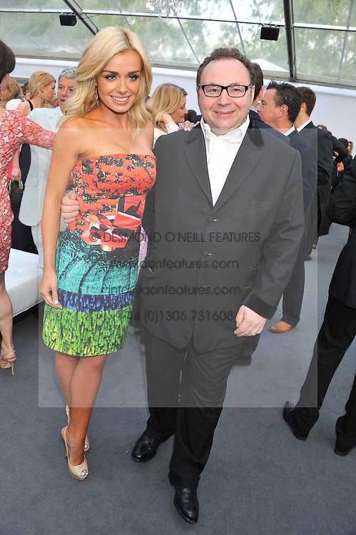 KATHERINE JENKINS and JONATHAN SHALIT at the Glamour Women of the Year Awards 2012 in association with Pandora held in Berkeley Square Gardens, London W1 on 29th May 2012.