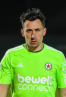 Arnaud Balijon of Red Star during the French Ligue 2 match between Red Star and Auxerre on 14th March, 2016.<br /> Photo : Philippe Le Brech / Icon Sport