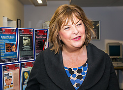 Pictured: Scottish Government Public Libraries Funding Announcement. Culture Minister Fiona Hyslop announces this year's successful bids to the £450,000 Public Library Improvement Fund (PLIF) at the John Grey Centre, Haddington Library, Haddington, East Lothian, Scotland, United Kingdom.  PLIF has been supporting innovative library projects since 2006 which help both individuals and communities. Fiona Yslop meets members of Haddington Film Appreciation Club, a project organised by Dr Hanita Ritchie. 13 December 2018  <br /> <br /> Sally Anderson | EdinburghElitemedia.co.uk