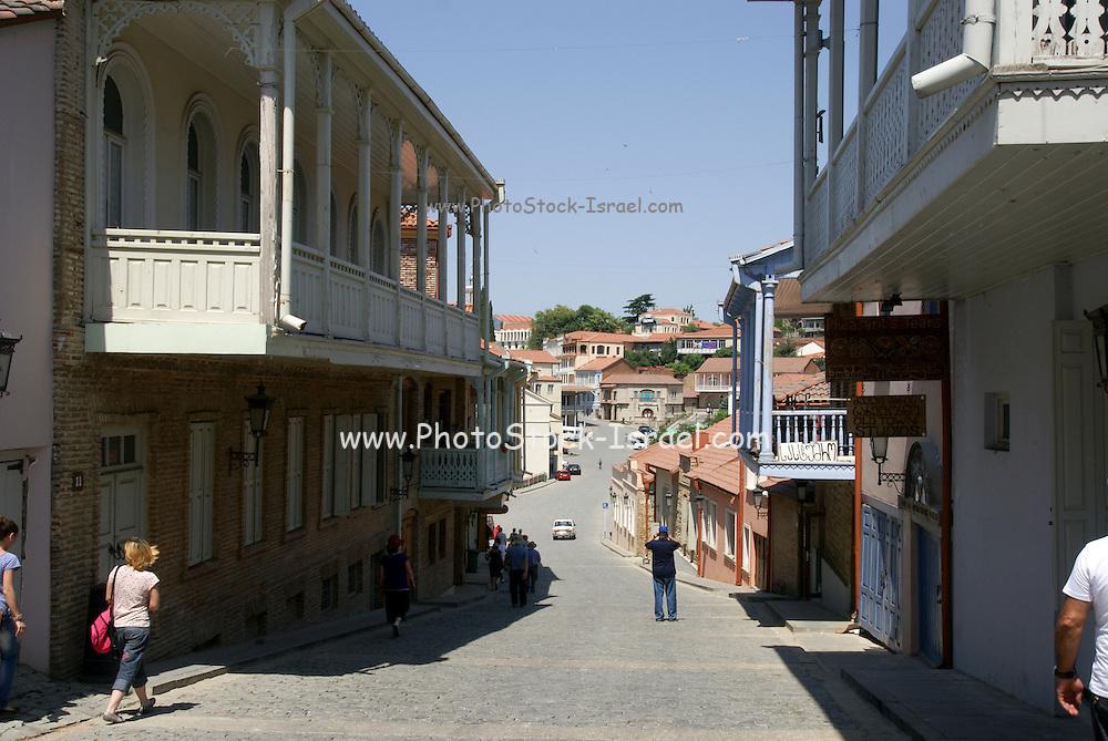 Georgia, Tbilisi, view of the city