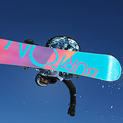 Yuki Furihata, Japan,  in action during the Women's Half Pipe competition at the Burton New Zealand Open 2011 held at Cardrona Alpine Resort, Wanaka, New Zealand, 10th August 2011. Photo Tim Clayton