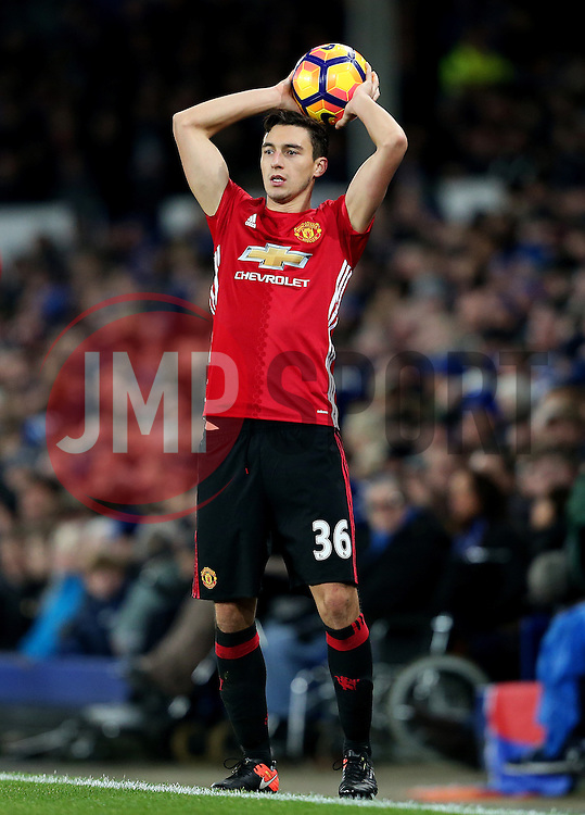 Matteo Darmian of Manchester United  - Mandatory by-line: Matt McNulty/JMP - 04/12/2016 - FOOTBALL - Goodison Park - Liverpool, England - Everton v Manchester United - Premier League