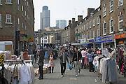 Petticoat Lane , Wentworth Street market, London, East End, E1, England