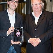 NLD/Amsterdam/201400414 - Uitreiking Erik Hazelhoff Jong Talentprijs en Biografieprijs door prinses Anita Sekreve, Rick Honings en Peter van Zonneveld zijn de winnaars van de Erik Hazelhoff Biografieprijs 2014