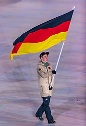 09.02.2018, Olympic Stadium, Pyeongchang, KOR, PyeongChang 2018, Eröffnungsfeier, im Bild Eric Frenzel (GER) // Eric Frenzel of Germany during the Opening Ceremony of the Pyeongchang 2018 Winter Olympic Games at the Olympic Stadium in Pyeongchang, South Korea on 2018/02/09. EXPA Pictures © 2018, PhotoCredit: EXPA/ Johann Groder