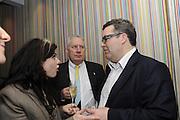 CAITLIN MORAN; JIM MOWATT; TOM WATSON, The 2011 Groucho Club Maverick Award. The Groucho Club. Soho, London. 14 November 2011. <br /> <br />  , -DO NOT ARCHIVE-© Copyright Photograph by Dafydd Jones. 248 Clapham Rd. London SW9 0PZ. Tel 0207 820 0771. www.dafjones.com.
