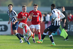 Joe Morrell of Bristol City U23 - Rogan Thomson/JMP - 31/10/2016 - FOOTBALL - SGS Wise Campus - Bristol, England - Bristol City U23 v Millwall U23 - U23 Professional Development League 2 (South Division).