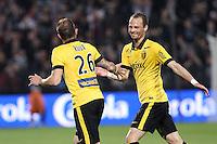 Joie Lille - Nolan ROUX / David ROZEHNAL - 23.05.2015 - Metz / Lille - 38e journee Ligue 1<br />Photo : Fred Marvaux / Icon Sport
