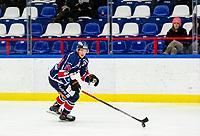2020-01-22   Kallinge, Sweden: Krif hockey (24) André Nordstrand during the game between Krif hockey and Halmstad Hammers at Soft Center Arena (Photo by: Jonathan Persson   Swe Press Photo)<br /> <br /> Keywords: kallinge, Ishockey, Icehockey, hockeyettan, allettan södra, soft center arena, krif hockey, halmstad hammers (Match code: krhh200122)