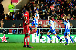 Jamie Murphy of Brighton & Hove Albion celebrates his goal - Mandatory by-line: Dougie Allward/JMP - 05/11/2016 - FOOTBALL - Ashton Gate - Bristol, England - Bristol City v Brighton and Hove Albion - Sky Bet Championship