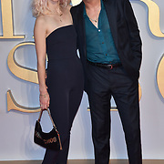 Portia Freeman and Pete Denton attend A Star Is Born UK Premiere at Vue Cinemas, Leicester Square, London, UK 27 September 2018.