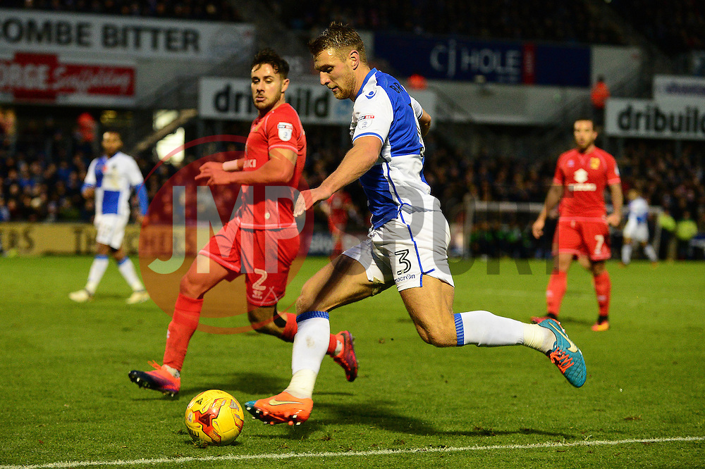 Lee Brown of Bristol Rovers  - Mandatory by-line: Dougie Allward/JMP - 19/11/2016 - FOOTBALL - Memorial Stadium - Bristol, England - Bristol Rovers v Milton Keynes Dons - Sky Bet League One