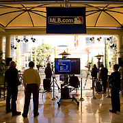 Major League Baseball's annual winter meetings were televised from the Bellagio in Las Vegas.