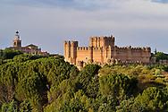 Coca Castle in Segovia.