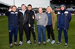 Homeless Charity Representatives - Mandatory by-line: Dougie Allward/JMP - 02/12/2017 - FOOTBALL - Memorial Stadium - Bristol, England - Bristol Rovers v Rotherham United - Sky Bet League One