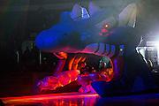 KELOWNA, CANADA - NOVEMBER 1:  Brodan Salmond #31 of the Kelowna Rockets skates out at the Kelowna Rockets game on November 1, 2016 at Prospera Place in Kelowna, British Columbia, Canada.  (Photo By Cindy Rogers/Nyasa Photography,  *** Local Caption ***