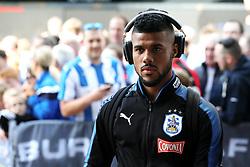 Elias Kachunga of Huddersfield Town arrives at the John Smith's Stadium - Mandatory by-line: Matt McNulty/JMP - 26/08/2017 - FOOTBALL - The John Smith's Stadium - Huddersfield, England - Huddersfield Town v Southampton - Premier League