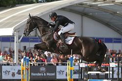 Hendrickx Dominique, BEL, Kannabis van de Bucxtale<br /> Final Belgium Championships<br /> Zangersheide FEI World Cup Breeding Jumping<br /> © Dirk Caremans<br /> 15/09/18