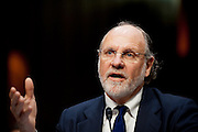 Former Gov. JON CORZINE, (D-NJ) and former chairman and CEO of MF Global testifies before a Senate Agriculture, Nutrition and Forestry Committee hearing on the circumstances surrounding the bankruptcy of MF Global Holdings Ltd.