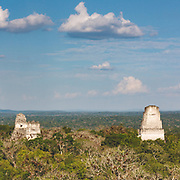 Dramatic temples of Tikal (also as seen in Star Wars - A New Hope)