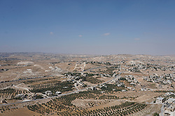 A view towards Jerusalem taken from Herodium's Tomb. From a series of travel photos taken in Jerusalem and nearby areas. Photo date: Wednesday, August 1, 2018. Photo credit should read: Richard Gray/EMPICS