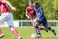 23-04-2016: Voetbal: Sportlust'46 v Zwaluwen: Woerden<br /> <br /> (L-R) Jorn Uittenbogaard van Sportlust '46, Dimitri Gomes Almeida van vv Zwaluwen<br /> <br /> Foto: Gertjan Kooij