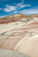 Colorful Bentonite Hills of Capitol Reef National Park Utah