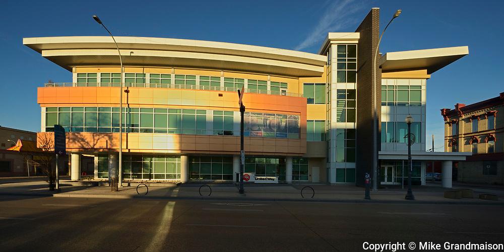 United Way. Raymond S.C. Wan, Architect, Winnipeg, Manitoba, Canada