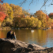 Autumn Color in Central Park, November 2010