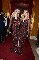Left to right, ANETTE FELDER and DANIELLA FELDER at The Animal Ball in aid of The Elephant Family held at Lancaster House, London on 9th July 2013.