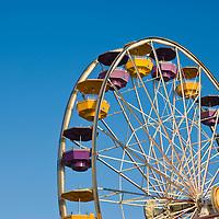 Ferris Wheel at Pacific Park,  Santa Monica, California