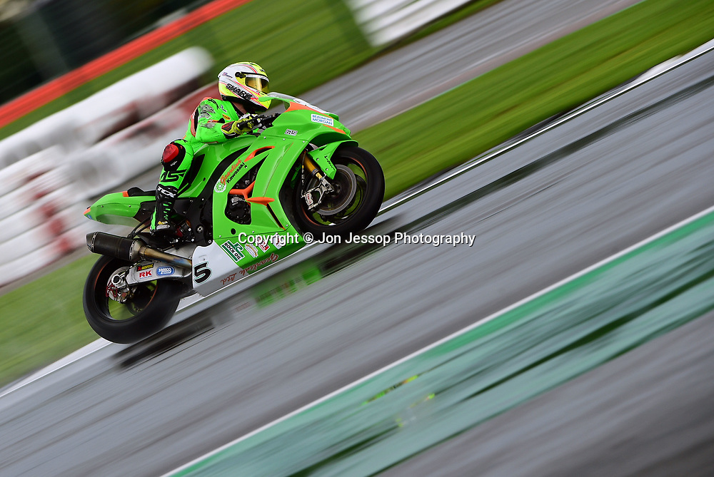 #5 James Westmoreland Gearlink Kawasaki MCE British Superbike Championship