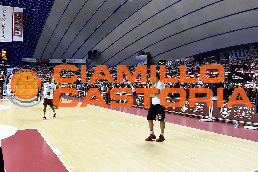 Umana Reyer Venezia tifosi<br /> Umana Reyer Venezia - Dolomiti Energia Aquila Basket Trento<br /> Lega Basket Serie A 2016/2017<br /> Playoff, finale gara 5<br /> Venezia, 18/06/2017<br /> Foto M.Ceretti / Ciamillo-Castoria