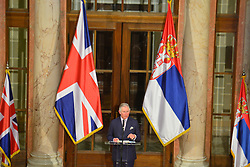 17.03.2016, Novi Sad, SRB, der Britische Kronprinz Charles und seine Frau Camilla besuchen Serbien, im Bild National Assembly held a solemn reception in honor of their Royal Highness the Prince of Wales and the Duchess of Cornwall. EXPA Pictures © 2016, PhotoCredit: EXPA/ Pixsell/ POOL<br /> <br /> *****ATTENTION - for AUT, SLO, SUI, SWE, ITA, FRA only*****