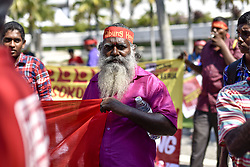 May 1, 2017 - Kuala Lumpur, Malaysia - Hundreds of people gather for Labor Day demonstrations on May 1st 2017, at Kuala Lumpur, Malaysia. (Credit Image: © Chris Jung/NurPhoto via ZUMA Press)
