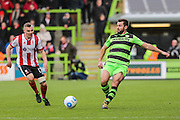 Forest Green Rovers Aarran Racine(21) during the Vanarama National League match between Forest Green Rovers and Lincoln City at the New Lawn, Forest Green, United Kingdom on 19 November 2016. Photo by Shane Healey.