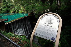 AUSTRALIA NEW SOUTH WALES 13FEB08 - Jenolan Caves water storage, built in 1908 in the Blue Mountains, New South Wales, Australia...jre/Photo by Jiri Rezac..© Jiri Rezac 2008..Contact: +44 (0) 7050 110 417.Mobile:  +44 (0) 7801 337 683.Office:  +44 (0) 20 8968 9635..Email:   jiri@jirirezac.com.Web:    www.jirirezac.com..© All images Jiri Rezac 2007 - All rights reserved.
