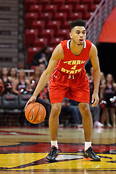 26 November 2016:  Drew Cushingberry during an NCAA  mens basketball game between the Ferris State Bulldogs the Illinois State Redbirds in a non-conference game at Redbird Arena, Normal IL