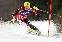 KOSTELIC Ivicaof Croatia competes during 1st Run of Men's Slalom - Pokal Vitranc 2012 of FIS Alpine Ski World Cup 2011/2012, on March 11, 2012 in Vitranc, Kranjska Gora, Slovenia.  (Photo By Vid Ponikvar / Sportida.com)