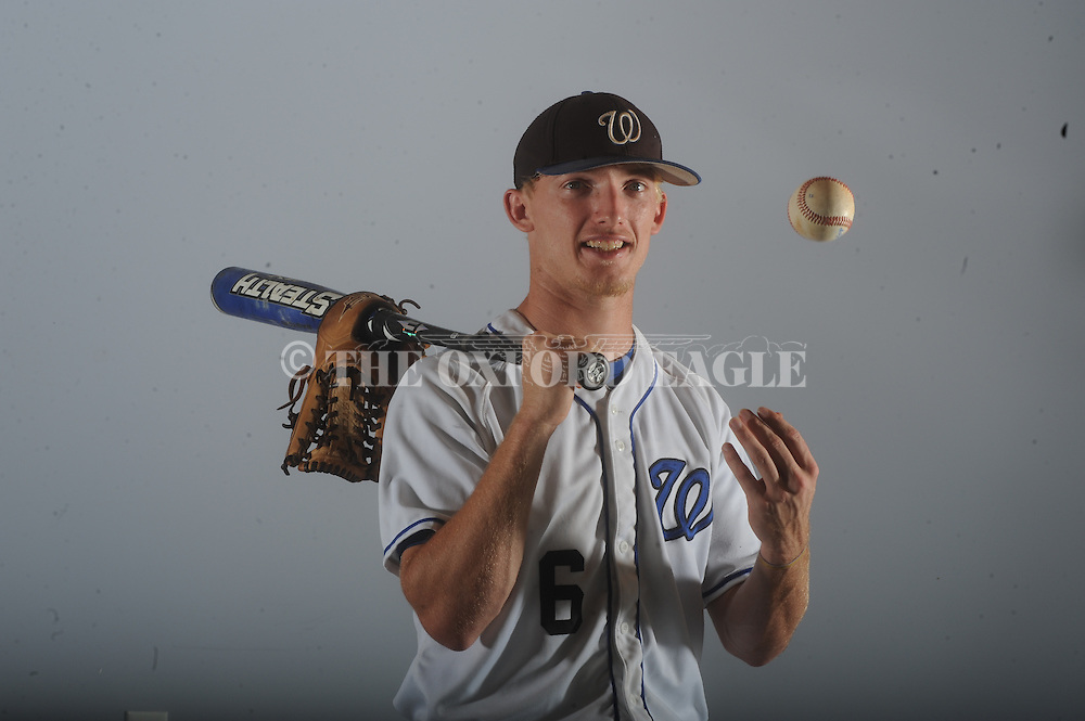 Water Valley's Josh Johnson is the Oxford Eagle's Player of the Year for 2101, photographed on Thursday, June 17, 2010.