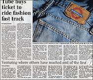 Levi Jeans(logo modified) / The Times / 2008