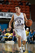 November 27, 2008: Western Carolina guard Brigham Waginger (13) in the final game in the opening round of the 2008 Great Alaska Shootout at the Sullivan Arena