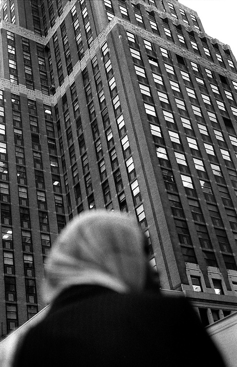 "Midtown Manhattan...Part of long-term (2005-2008) story ""I See A Darkness"". New York, NY."