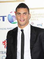 LONDON - NOVEMBER 30: Anthony Ogogo attended the British Olympic Ball at the Grosvenor House Hotel, London, UK. November 30, 2012. (Photo by Richard Goldschmidt)