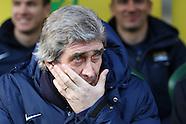 Norwich City v Manchester City 080214
