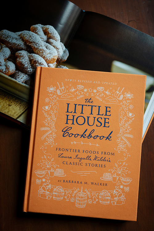 The newly revised The Little House Cookbook by Barbara Walker, with Garth Williams classic illustrations and photographs by Kathryn Elsesser