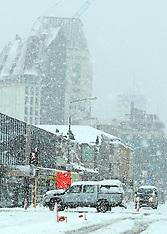 Christchurch-Winter snow blast hits earthquake city