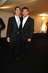 Left to right, property developers CHRIS CANDY and NICK CANDY at the Berkeley Square End of Summer Ball in aid of the Prince's Trust held in Berkeley Square, London on 27th September 2007.<br />