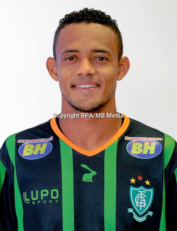 Brazilian Football League Serie A / <br /> ( America Futebol Club - America Mineiro MG ) - <br /> Ernandes Dias Luz &quot; Ernandes &quot;